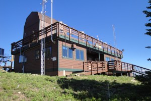 Storm Peak Laboratory above Steamboat Springs, CO